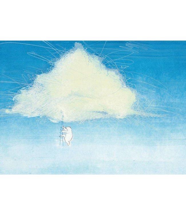 Fotobehang Climbing The Clouds, 389.6 x 280 cm