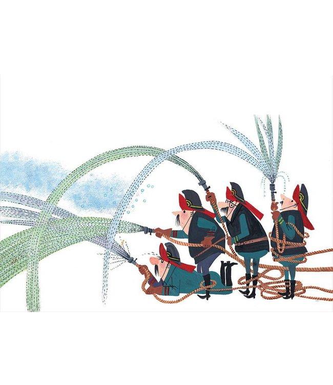 Fotobehang Fire Brigade, 389.6 x 280 cm