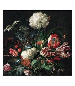 Fotobehang Golden Age Flowers 1