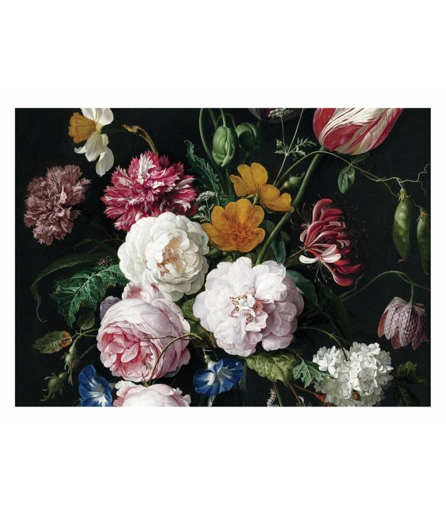 Wall Mural Golden Age Flowers 3, 389.6 x 280 cm