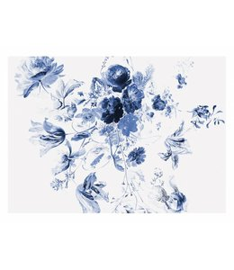 Fotobehang Royal Blue Flowers 3
