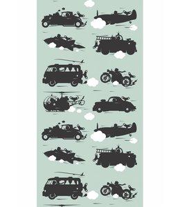 Tapete Vehicles, Grun