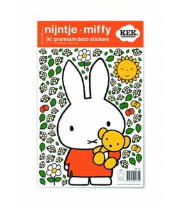 Miffy Wandtattoos Miffy with little bear