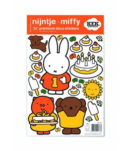 Miffy Wandtattoos Miffy birthday party