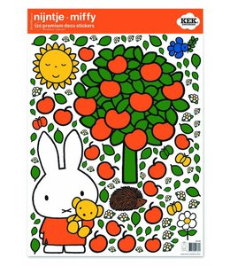 Miffy Wandtattoos Miffy apple tree