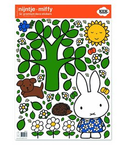 Miffy Wandtattoos Miffy big tree