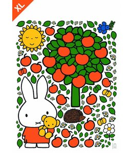 Miffy Wandtattoos Miffy apple tree XL