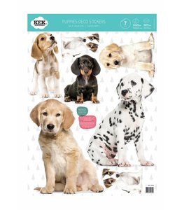 Puppies (7 Wall Stickers)