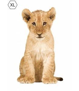 Muursticker Leeuw XL