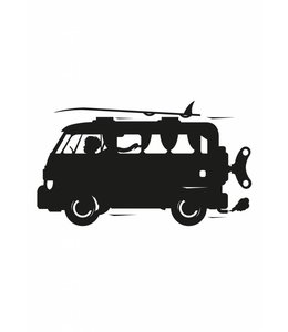 Schoolbordsticker Toys for Boys Surf Van, M
