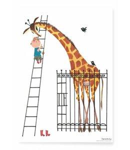 Poster Giant Giraffe