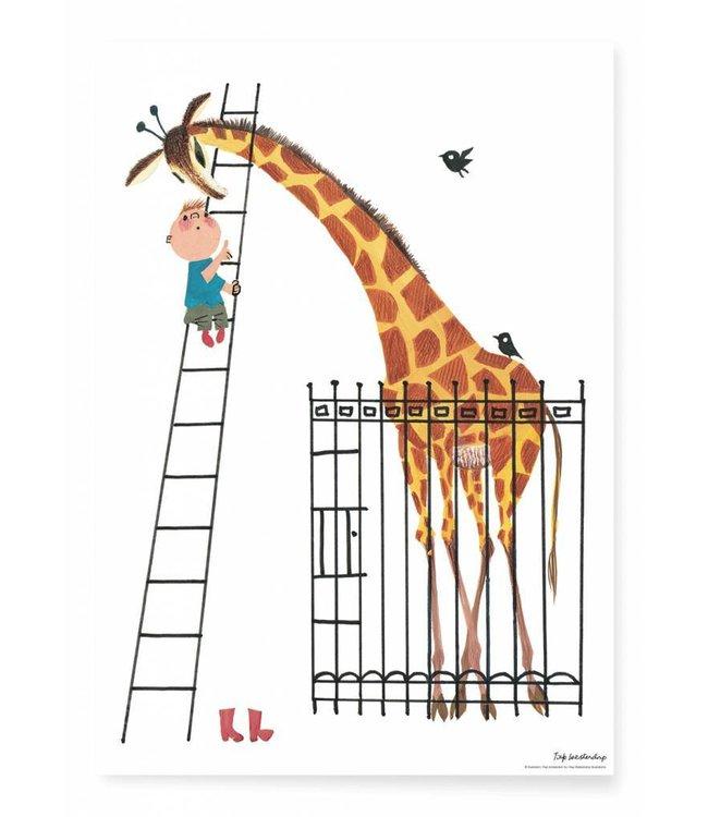 Poster Giant Giraffe, 42 x 59.4 cm