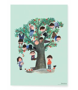 Poster Apple Tree