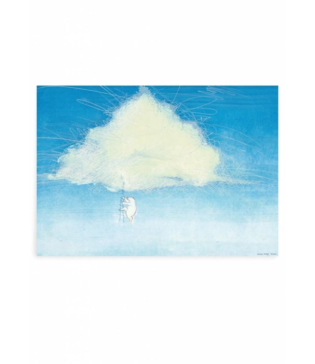 Poster Climbing the Clouds, 59.4 x 42 cm