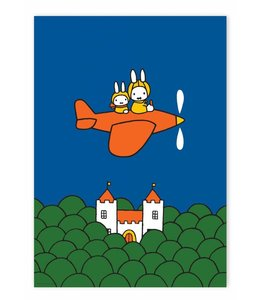Poster Miffy flying