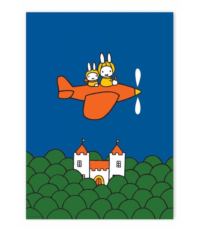 Poster Miffy flying , 42 x 59.4 cm
