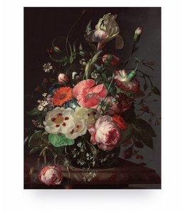 Prints auf Holz, Golden Age Flowers, S