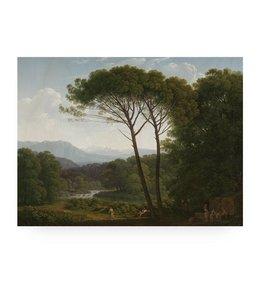 Prints auf Holz, Golden Age Landscape, L
