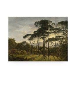 Prints auf Holz, Golden Age Landscape 1, M