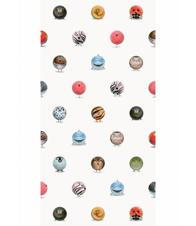 Martijn van der Linden Animal Marbles, 97.4 x 280 cm