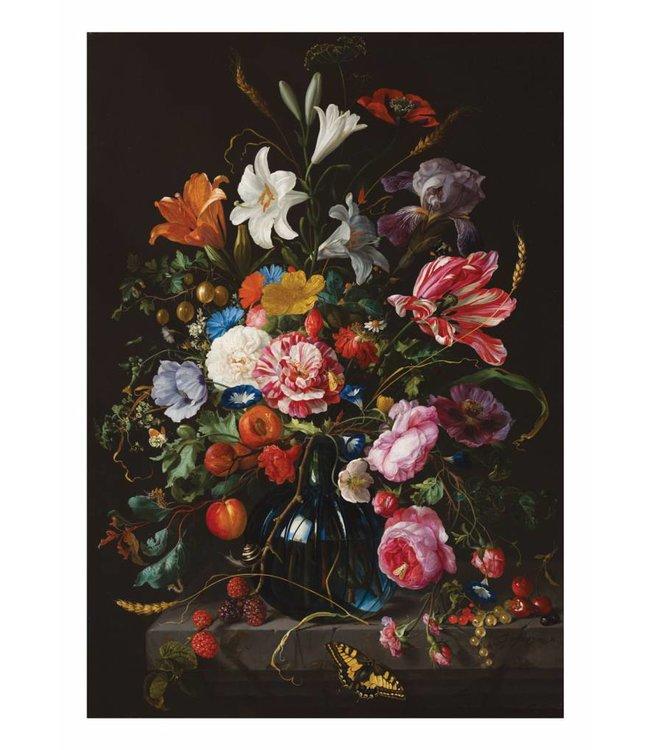 Wall Mural Golden Age Flowers 5, 194.8 x 280 cm