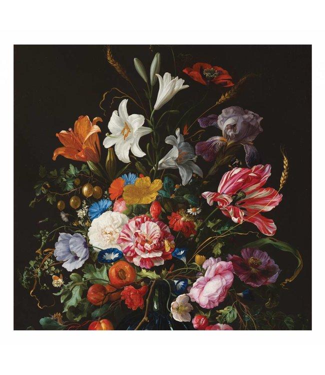 Fototapete Golden Age Flowers, 292.2 x 280 cm