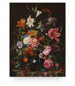 Prints auf Holz, Golden Age Flowers, M