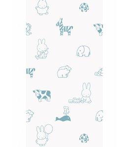 Miffy tapete Animals, Blau