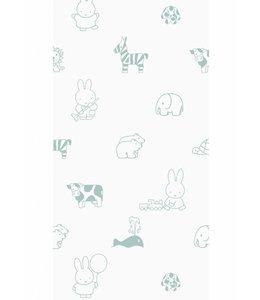 Miffy tapete Animals, Grün