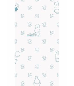 Miffy wallpaper Bears, Blue