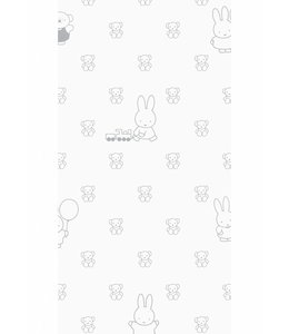 Miffy wallpaper Bears, Grey
