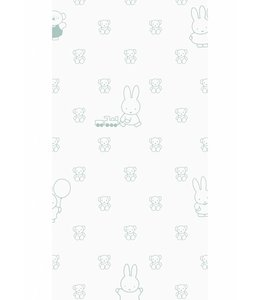 Miffy wallpaper Bears, Green