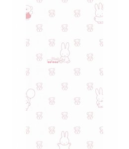 Miffy tapete Bears, Rosa