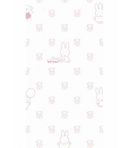 Nijntje behang Bears, Roze