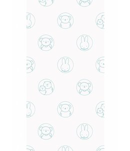 Dick Bruna Miffy wallpaper Portraits, Mint