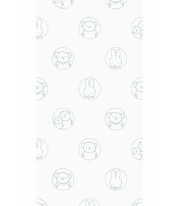 Dick Bruna Miffy wallpaper Portraits, Green