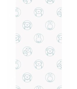 Miffy wallpaper Portraits, Blue