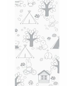 Miffy tapete Outdoor Fun, Gris