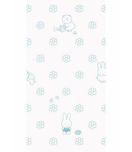 Miffy wallpaper Flowers, Mint