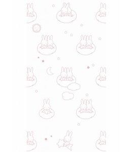 Dick Bruna Miffy wallpaper Clouds, Pink