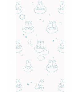 Miffy tapete Clouds, Mint