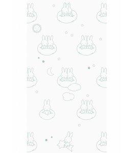 Miffy tapete Clouds, Grün