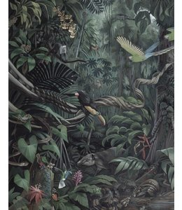 Wallpaper Panel Tropical Landscape