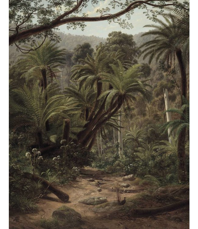 Wallpaper Panel Palm Trees, 142.5 x 180 cm