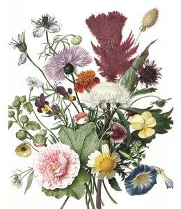 Wallpaper Panel Wild Flowers