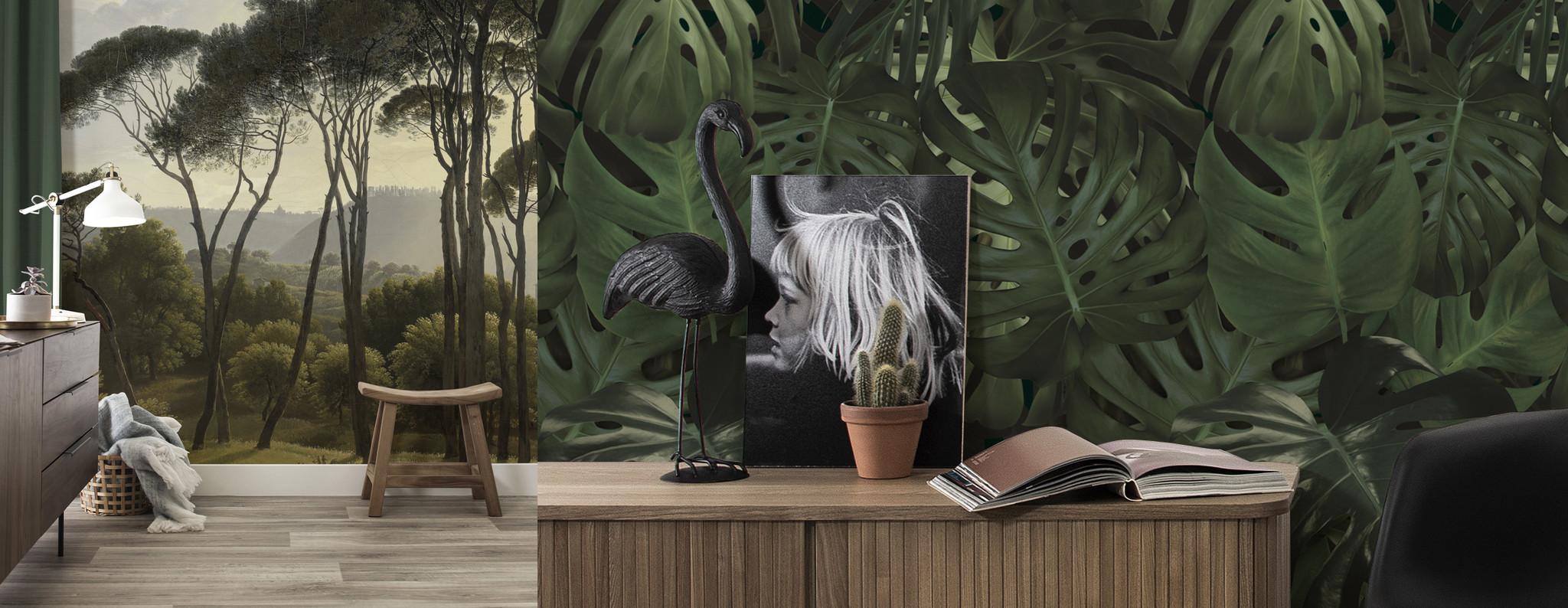 Behang Met Afbeelding.Behang Met Bloemen En Planten Kek Amsterdam
