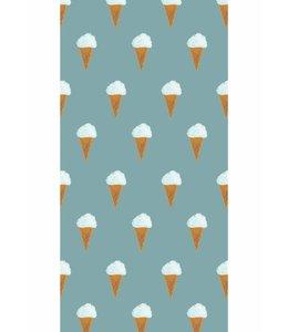 Fiep Westendorp Wallpaper Ice cream, Petrol