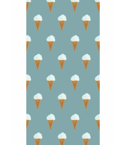 Wallpaper Ice cream, Petrol