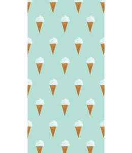Fiep Westendorp Wallpaper Ice cream, Mint