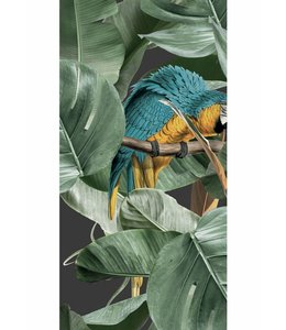 Wallpaper Botanical Birds